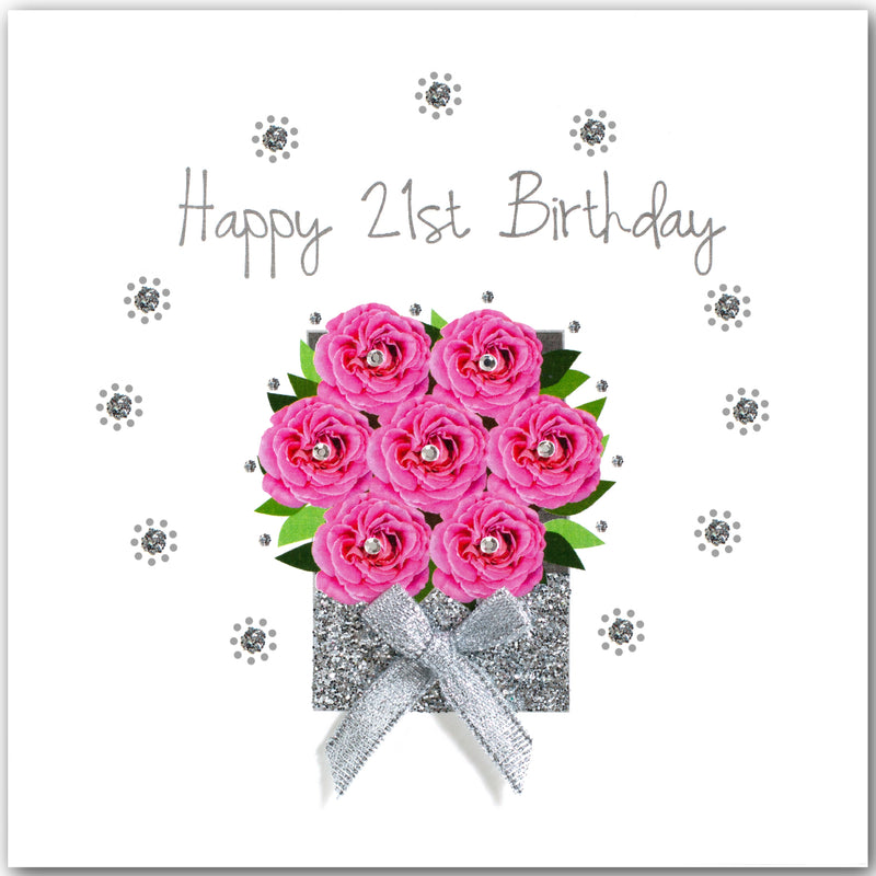 Rose Box 21st Birthday - L1798