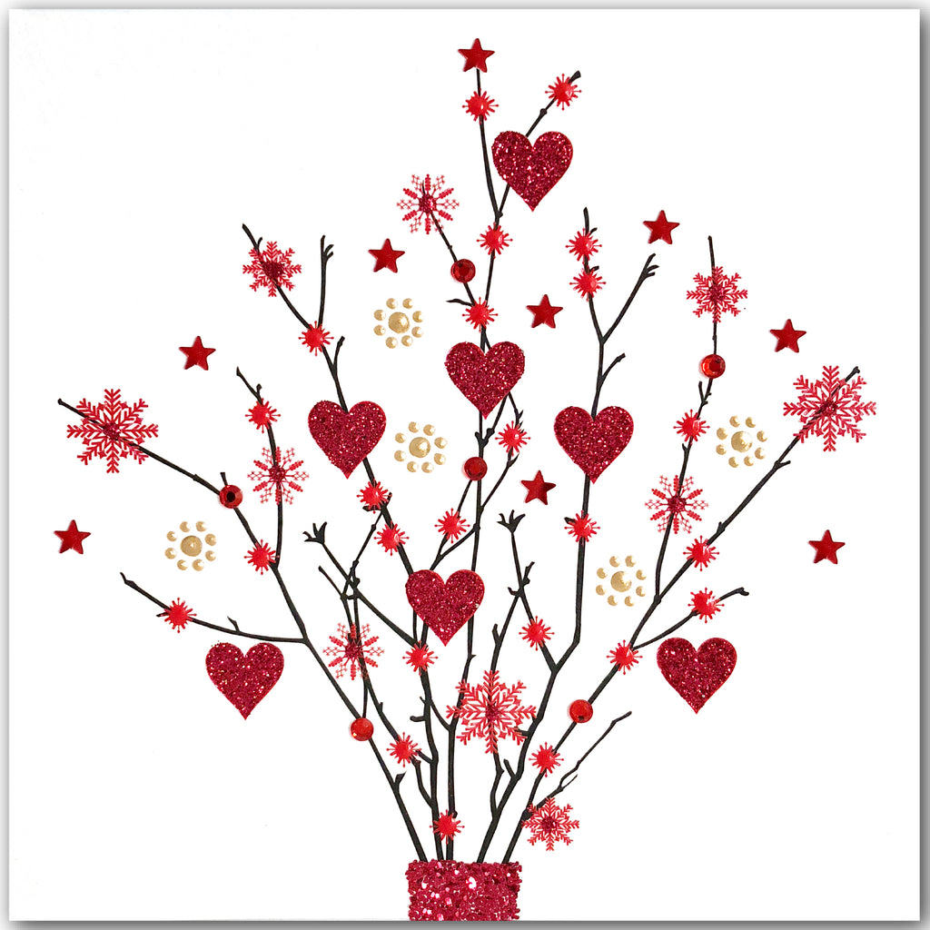 Heart Twigs - N1771 (Pack of 5)