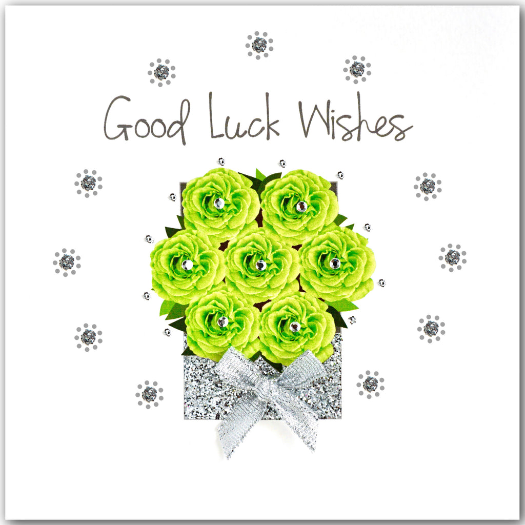 Rose Box Good Luck Wishes - L1840