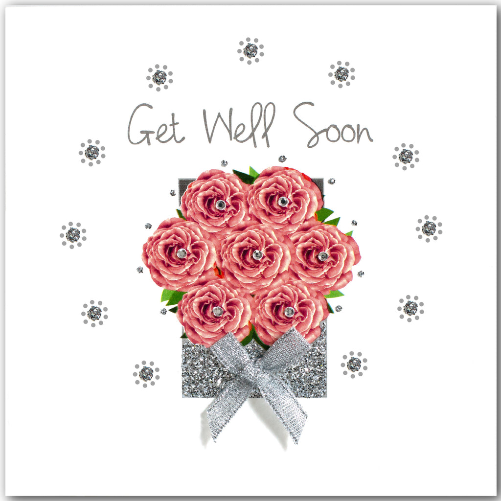 Rose Box Get Well Soon - L1841