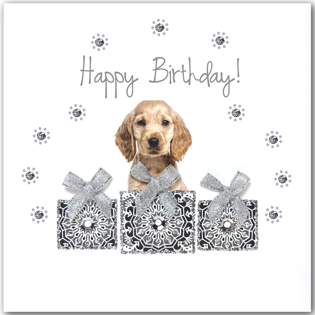 Birthday Cocker Spaniel - L1846