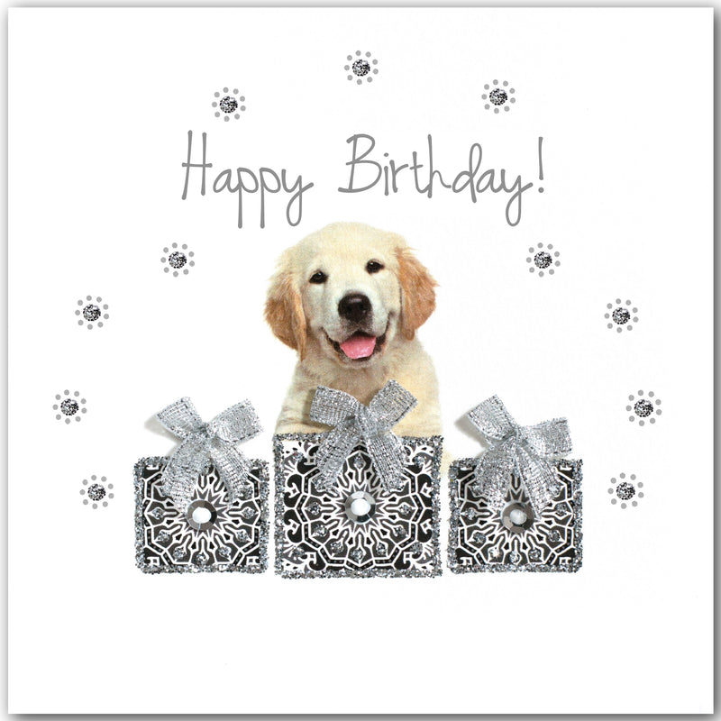 Birthday Golden Retriever - L1844