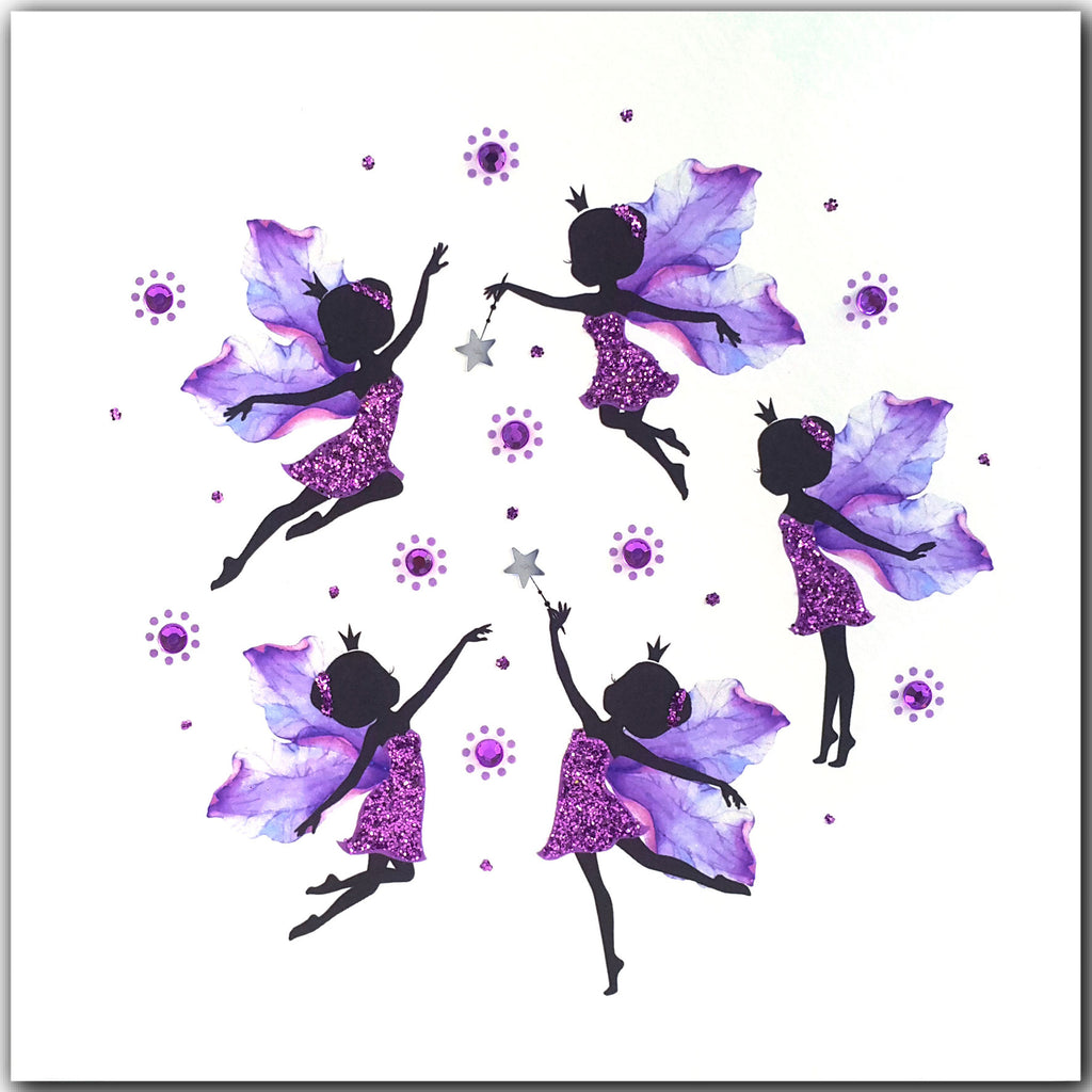 PURPLE FAIRIES - L1921