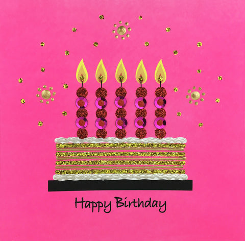 Birthday Cake - N1267 (Pack of 5)