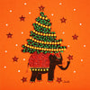 Christmas Elephant - N1485 (Pack of 5)