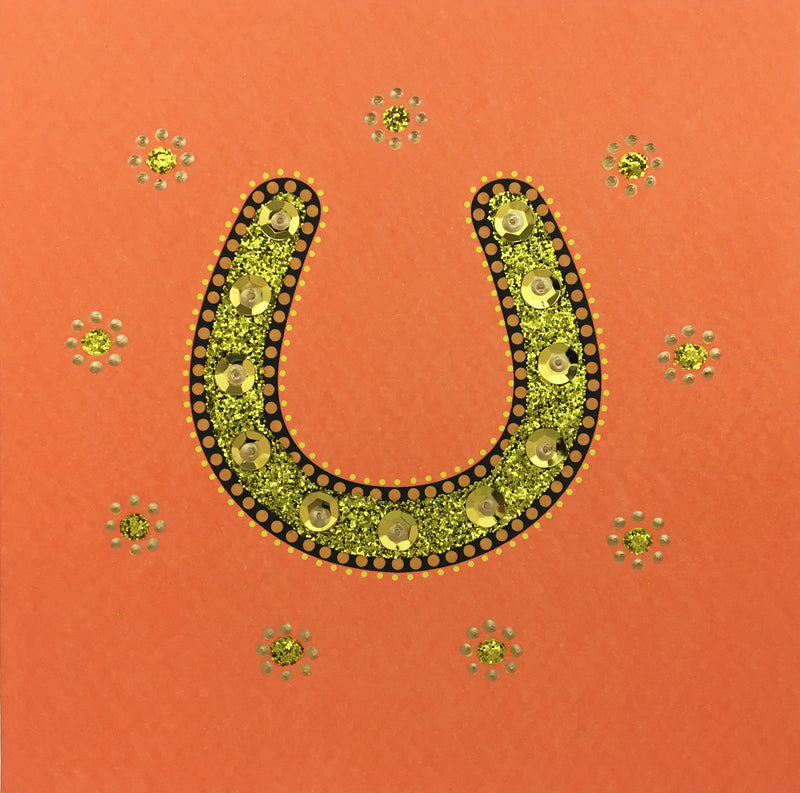 Good Luck Horseshoe - N1512 (Pack of 5)