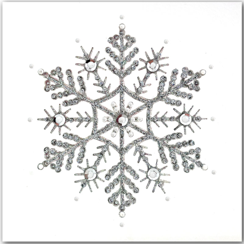 Silver Snowflake - N1624 (Pack of 5)