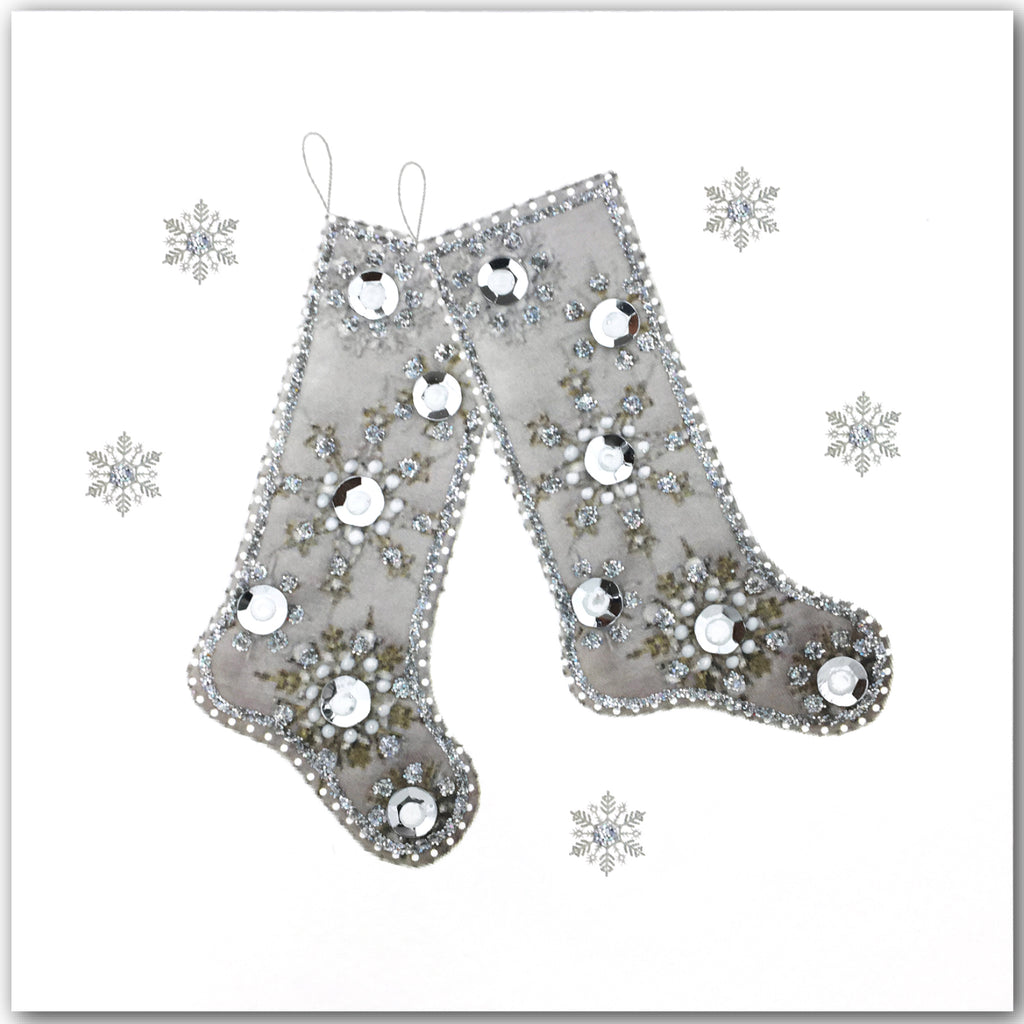 Silver Stockings - N1625 (Pack of 5)