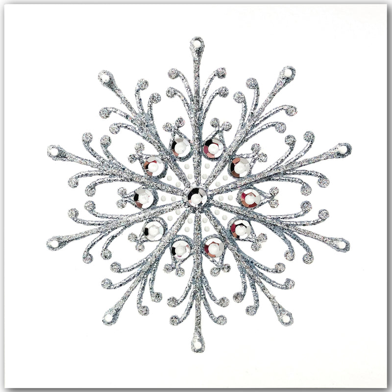 Silver Snowflake - N1631 (Pack of 5)