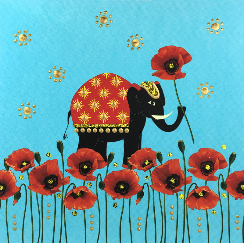 Elephant Poppies - N1653 (Pack of 5)
