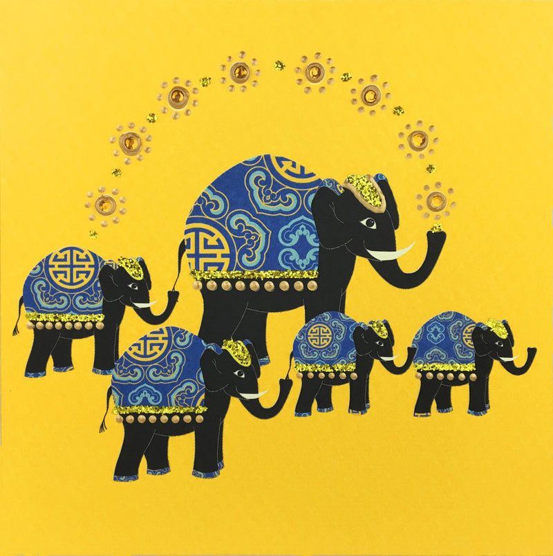 Elephants Parade - N1658 (Pack of 5)