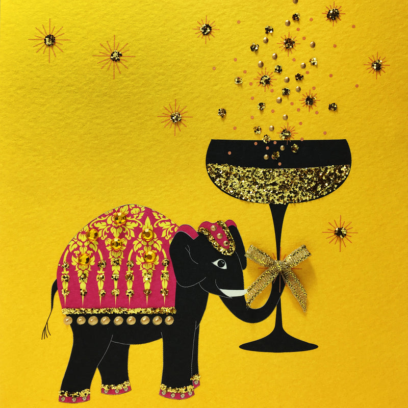 Champagne Elephant - N1659 (Pack of 5)