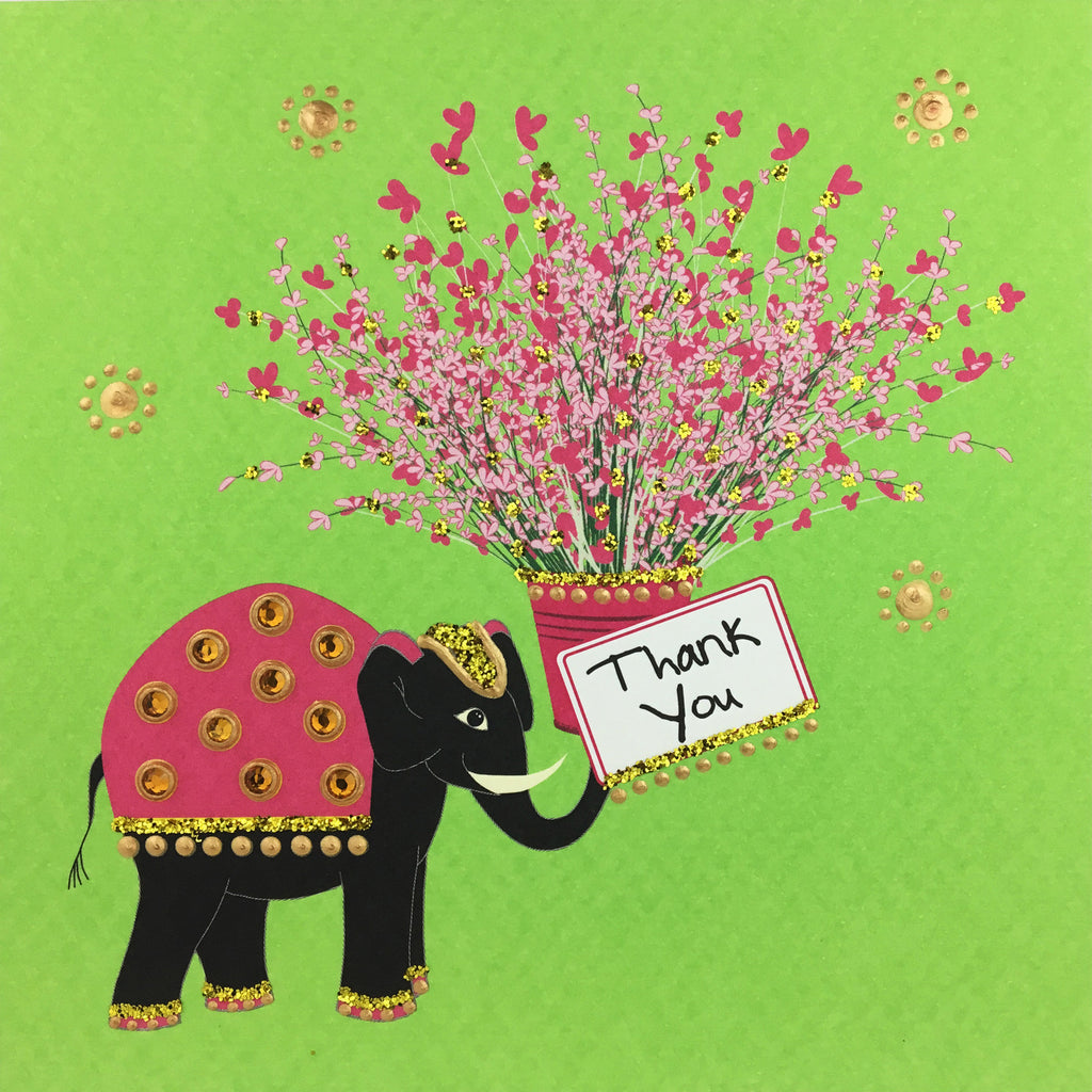 Thank You Elephant - N1660 (Pack of 5)