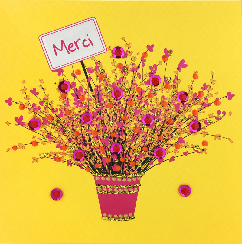 Merci Flowers - N1661-1 (Pack of 5)