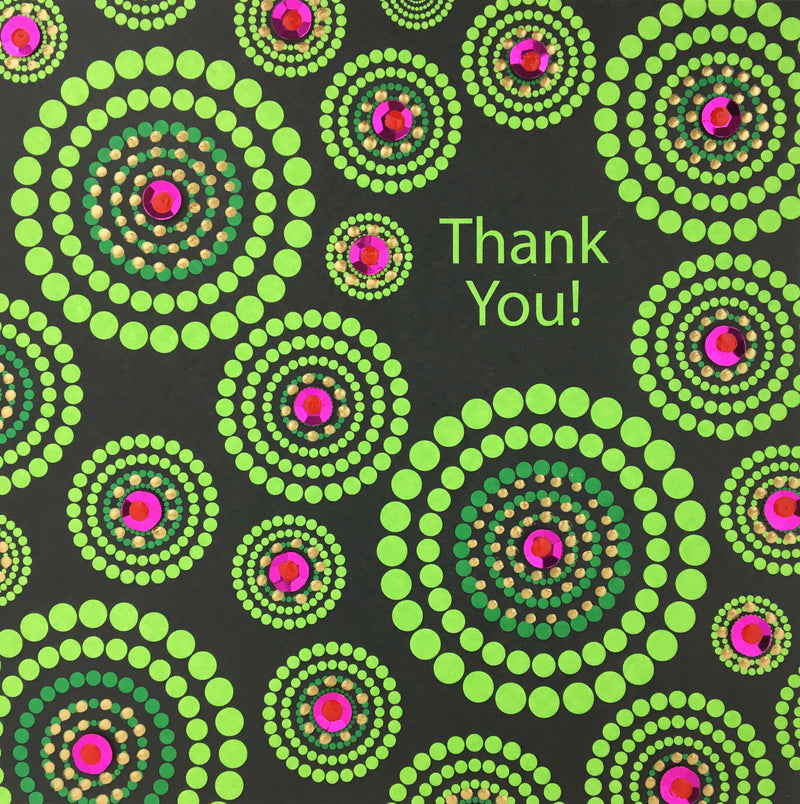 Thank You Circles - N1667 (Pack of 5)
