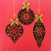 Christmas Baubles - N1686 (Pack of 5)