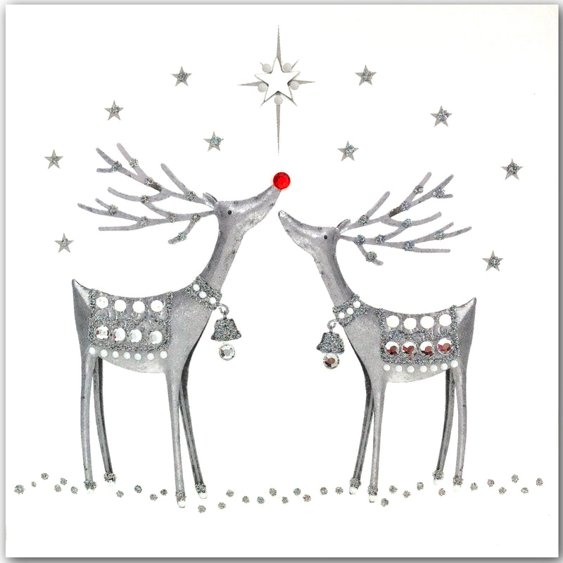 Silver Reindeer - N1690 (Pack of 5)