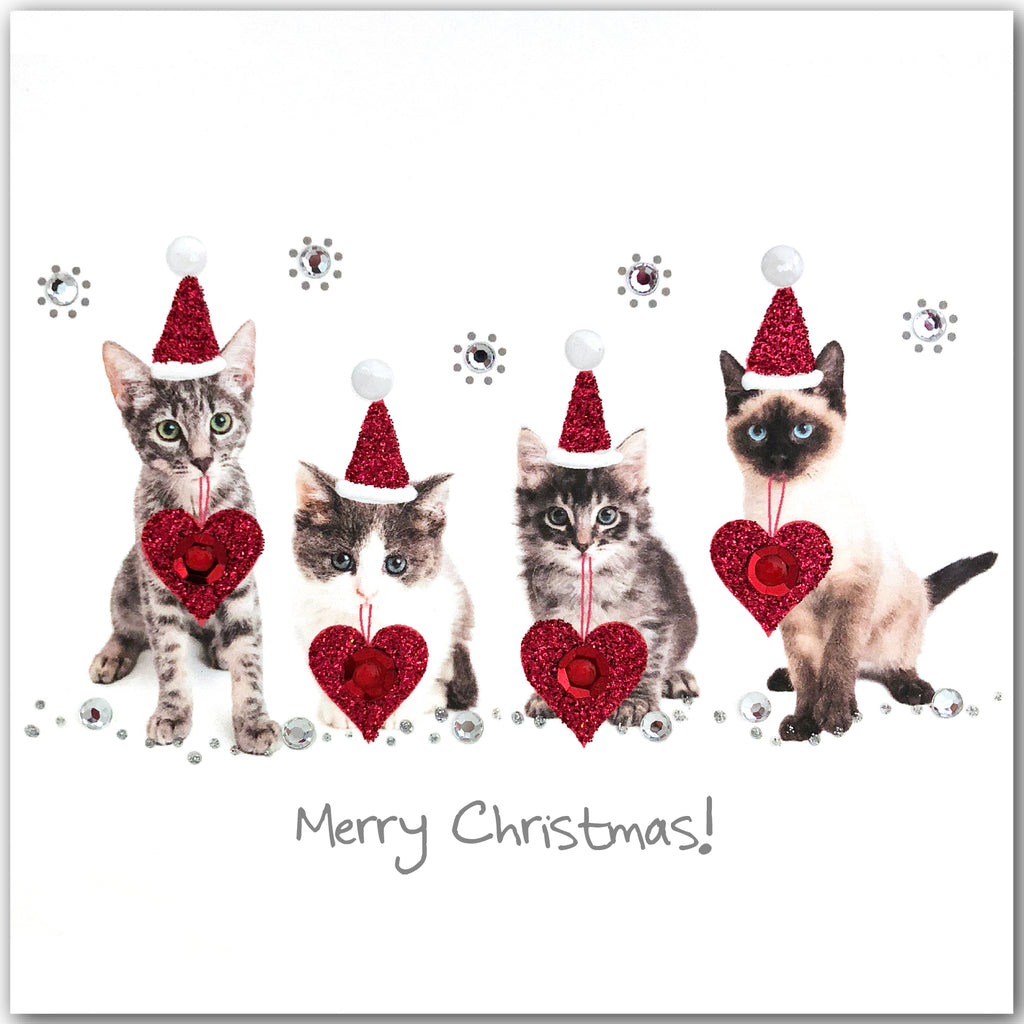 Christmas Kittens - N1746 (Pack of 5)