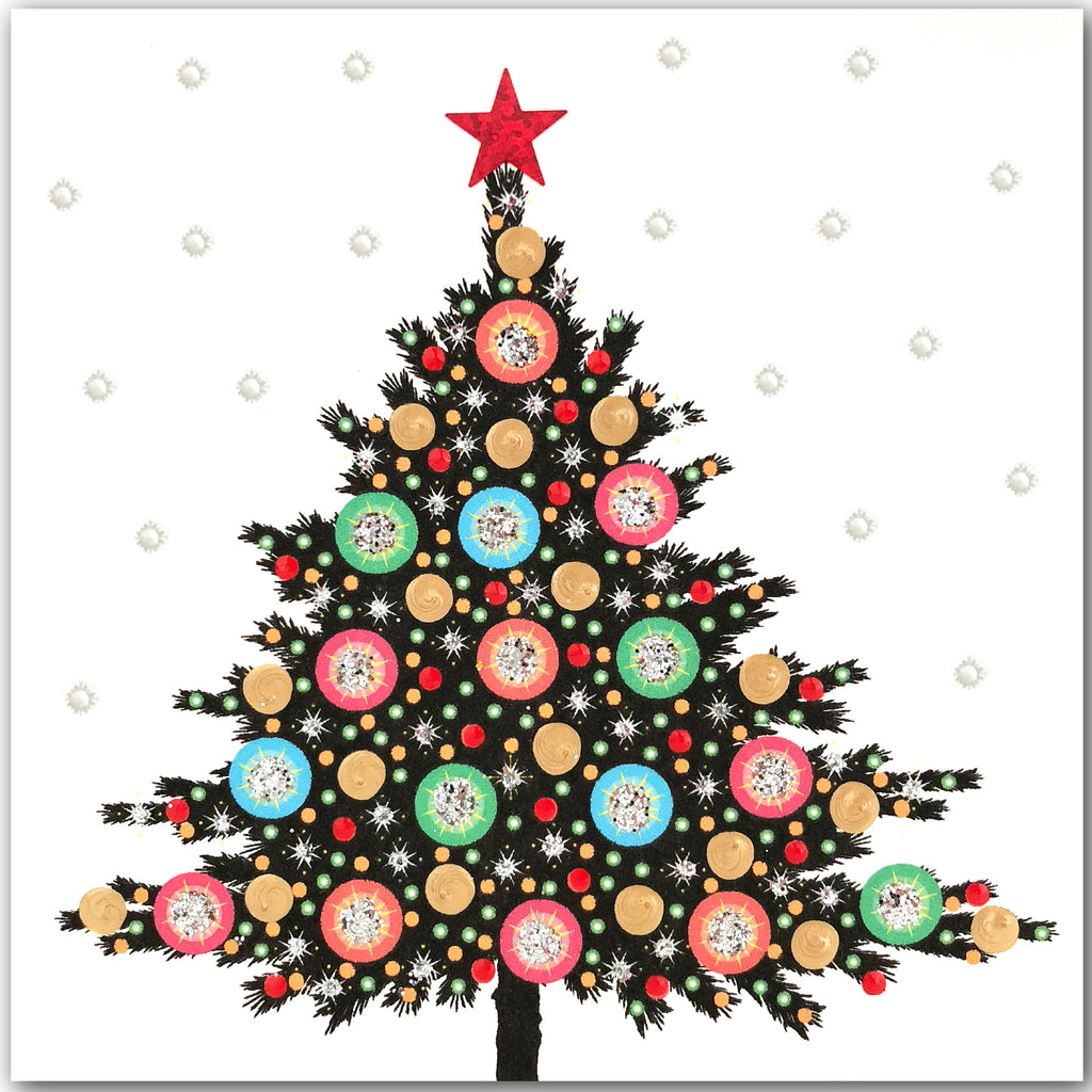 Festive Christmas Tree - N1770 (Pack of 5)
