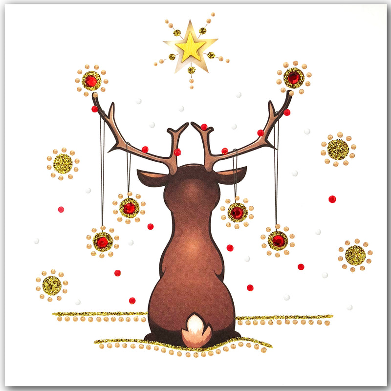 Reindeer Gazing - N1774 (Pack of 5)