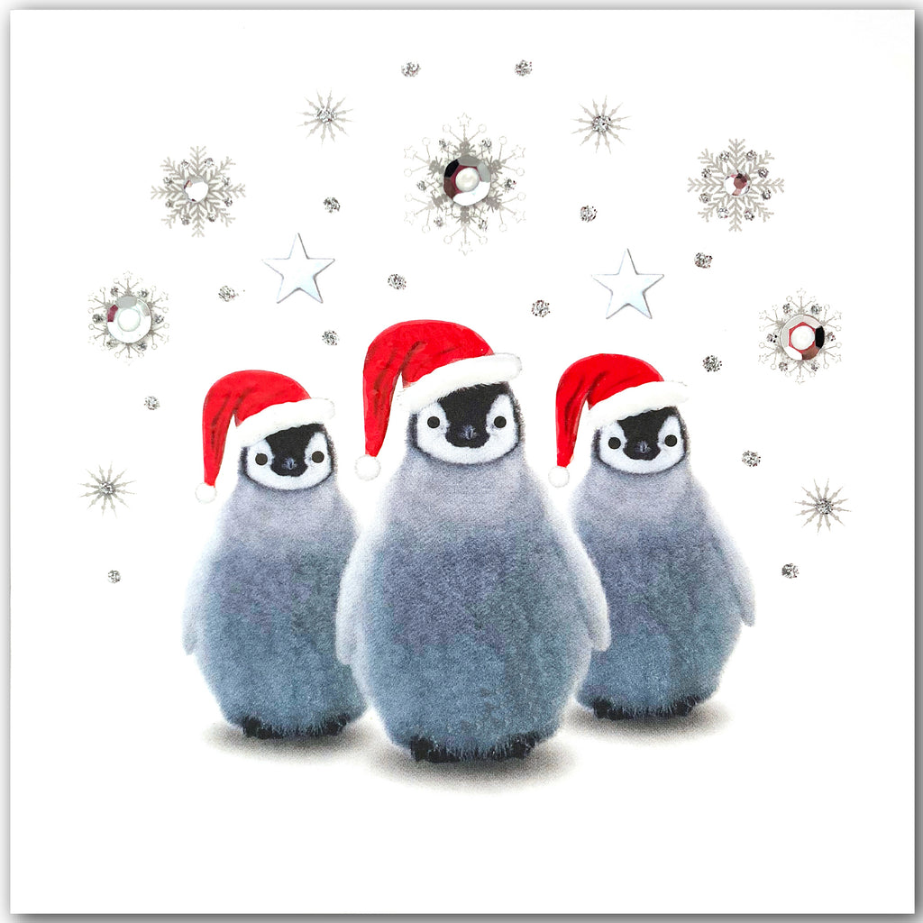 Festive Penguins - N1775 (Pack of 5)
