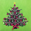 Christmas Tree - N1777 (Pack of 5)