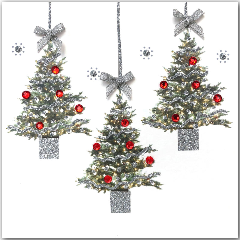 Mini Christmas Trees - N1783 (Pack of 5)