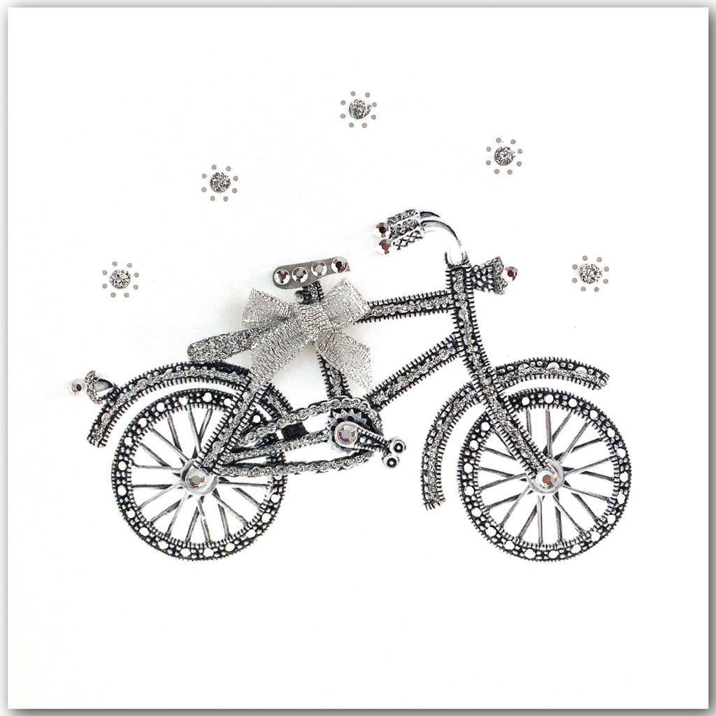 Silver Bicycle - N1766