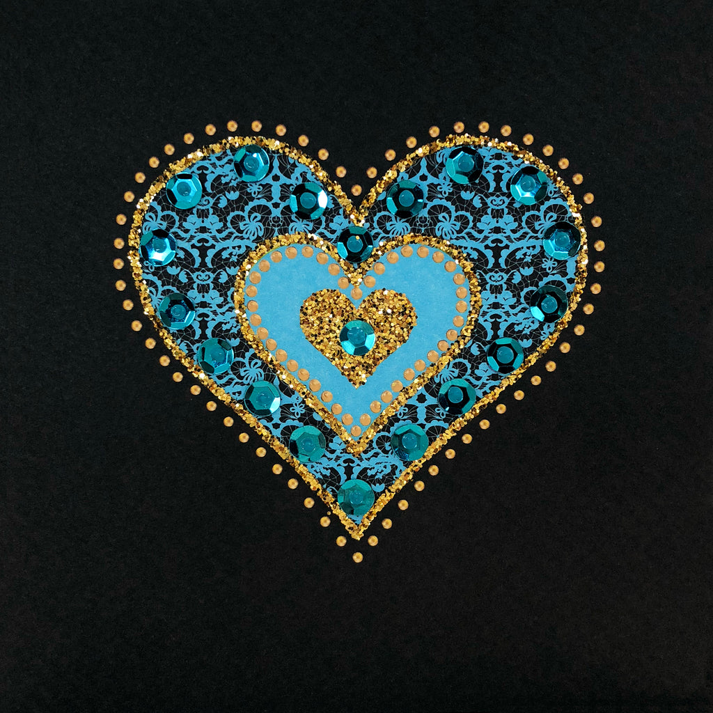 Lace Heart - N1864 (Pack of 5)