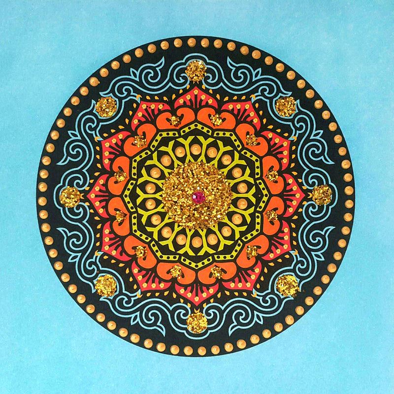 LOTUS CIRCLE - N1872 (PACK of 5)