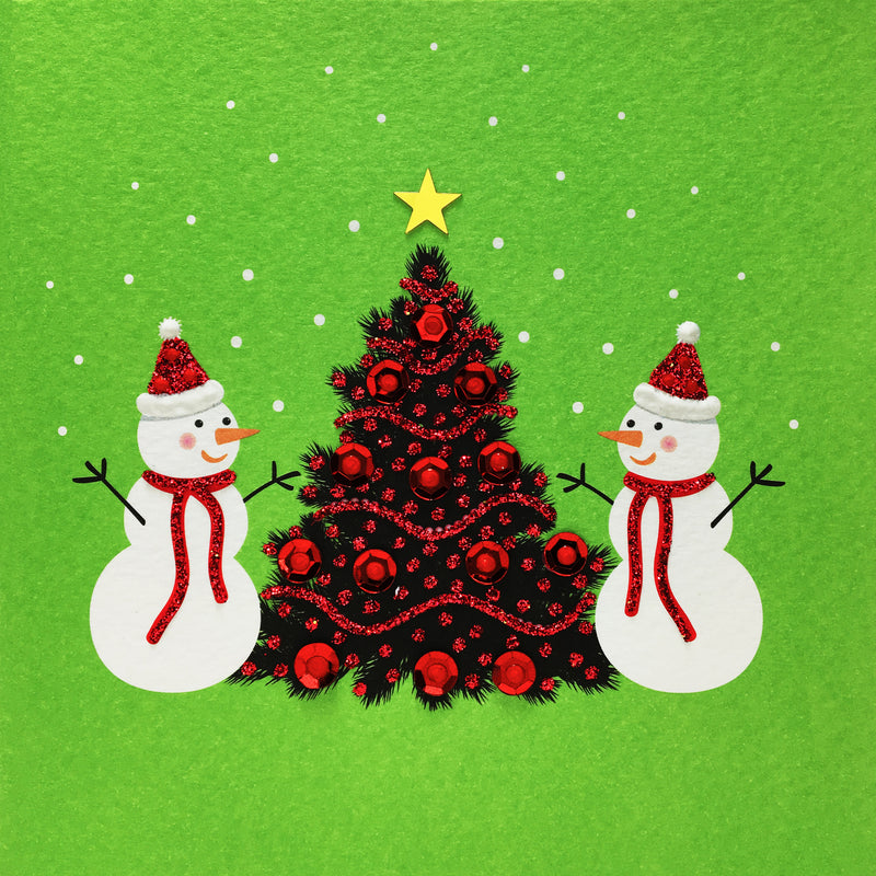 SNOWMEN - N1893 (Pack of 5)