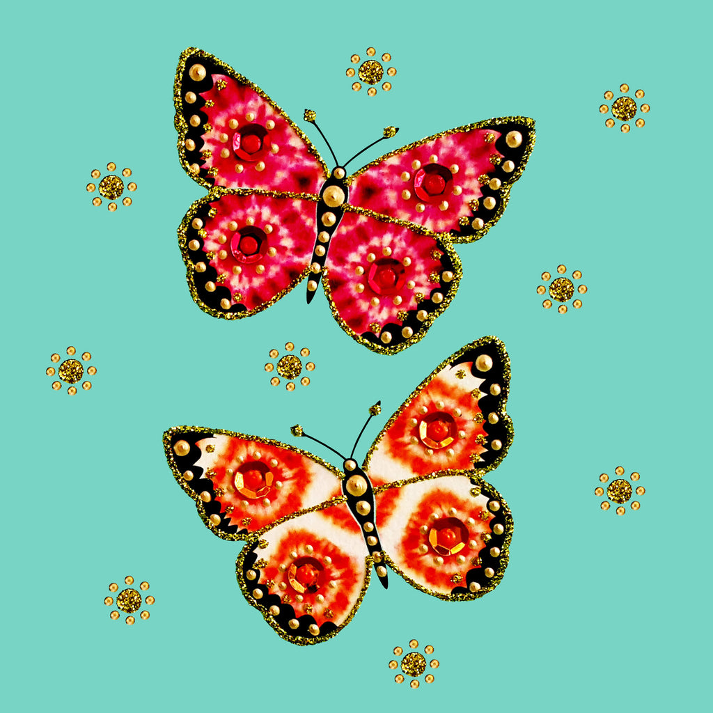 BATIK BUTTERFLIES - N1900 (PACK OF 5)