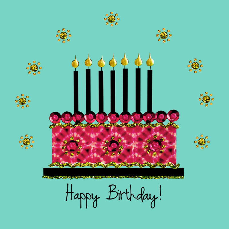 BATIK BIRTHDAY CAKE - N1901 (PACK OF 5)