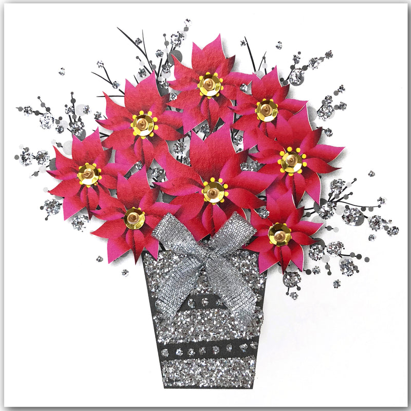 Christmas Flowers - N1903 (Pack of 5)