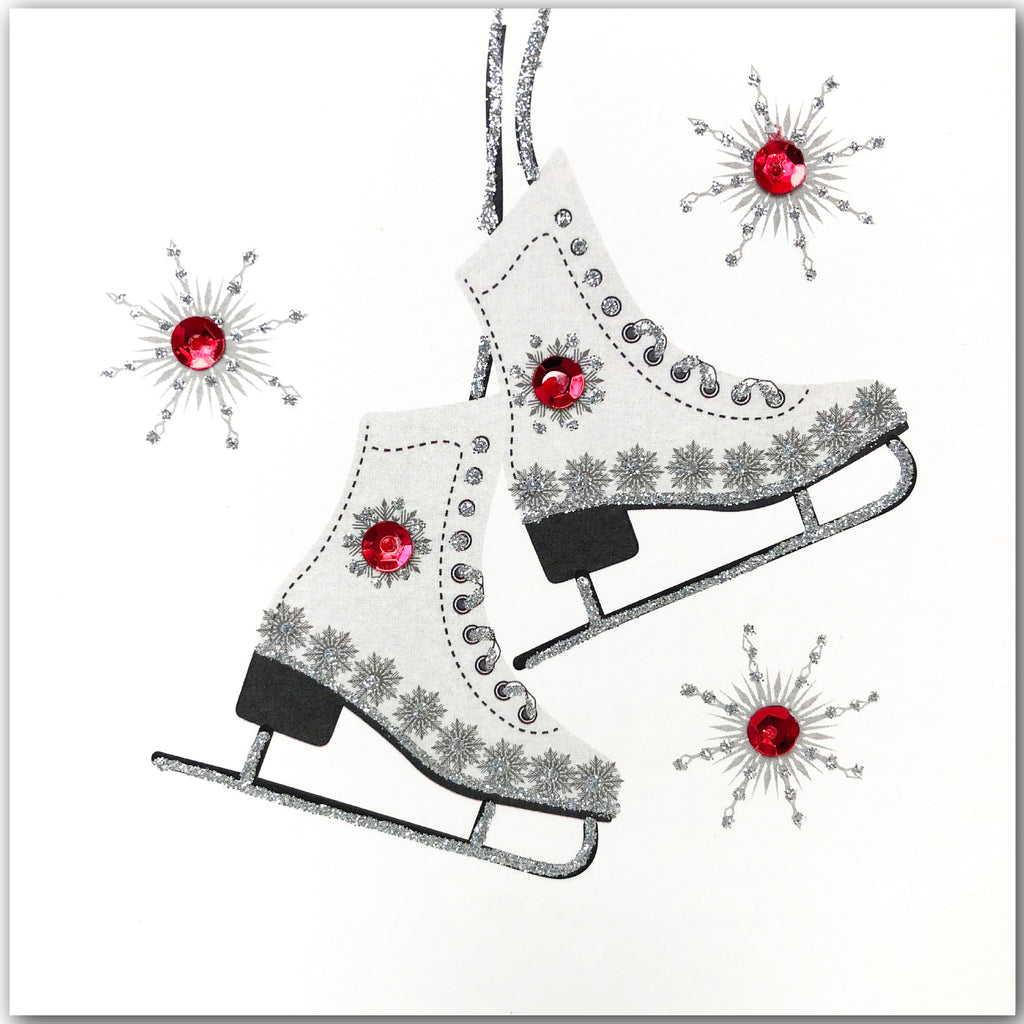 Festive Ice-Skates - N1905 (Pack of 5)