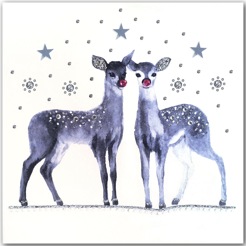 CHRISTMAS DEER - N1968 (PACK OF 5)