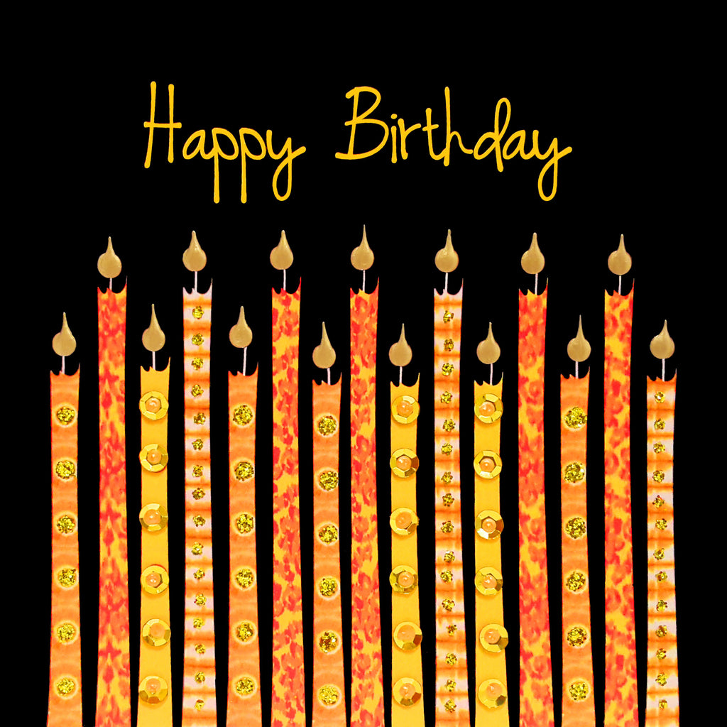 BATIK BIRTHDAY CANDLES - N1994 (PACK OF 5)