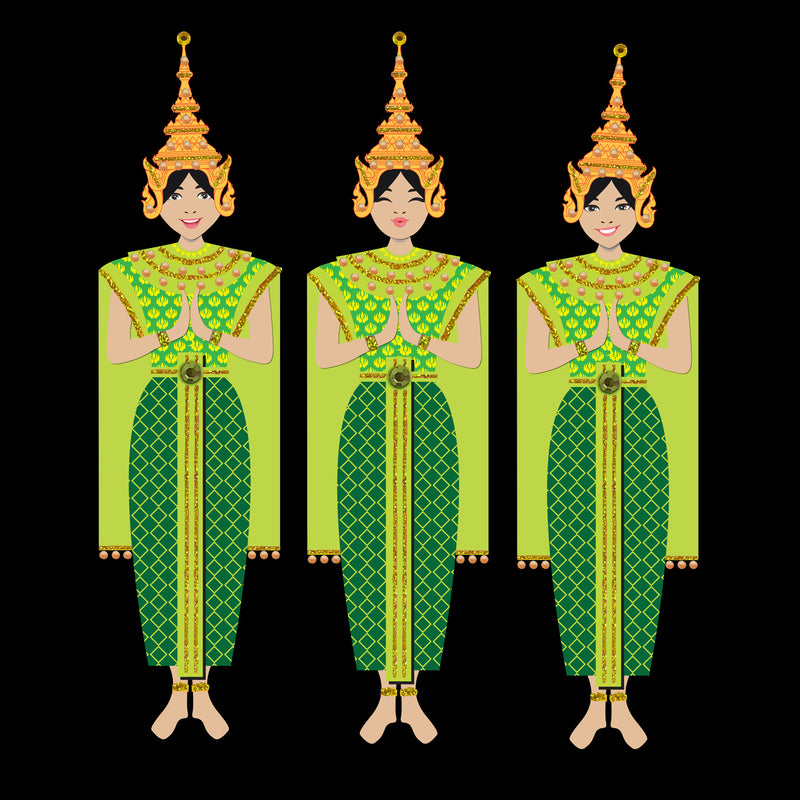 THAI DANCERS - N2000 (PACK OF 5)