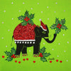 Elephant Holly - S1288 (Pack of 5)