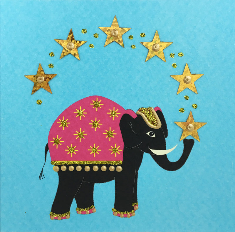 Elephant 6 Stars - S1678 (Pack of 5)