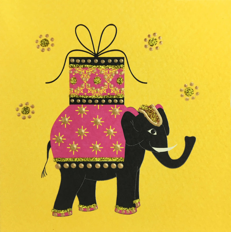 Birthday Elephant - S735 (Pack of 5)