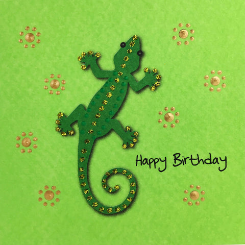 Birthday Gecko - S1680 (Pack of 5)