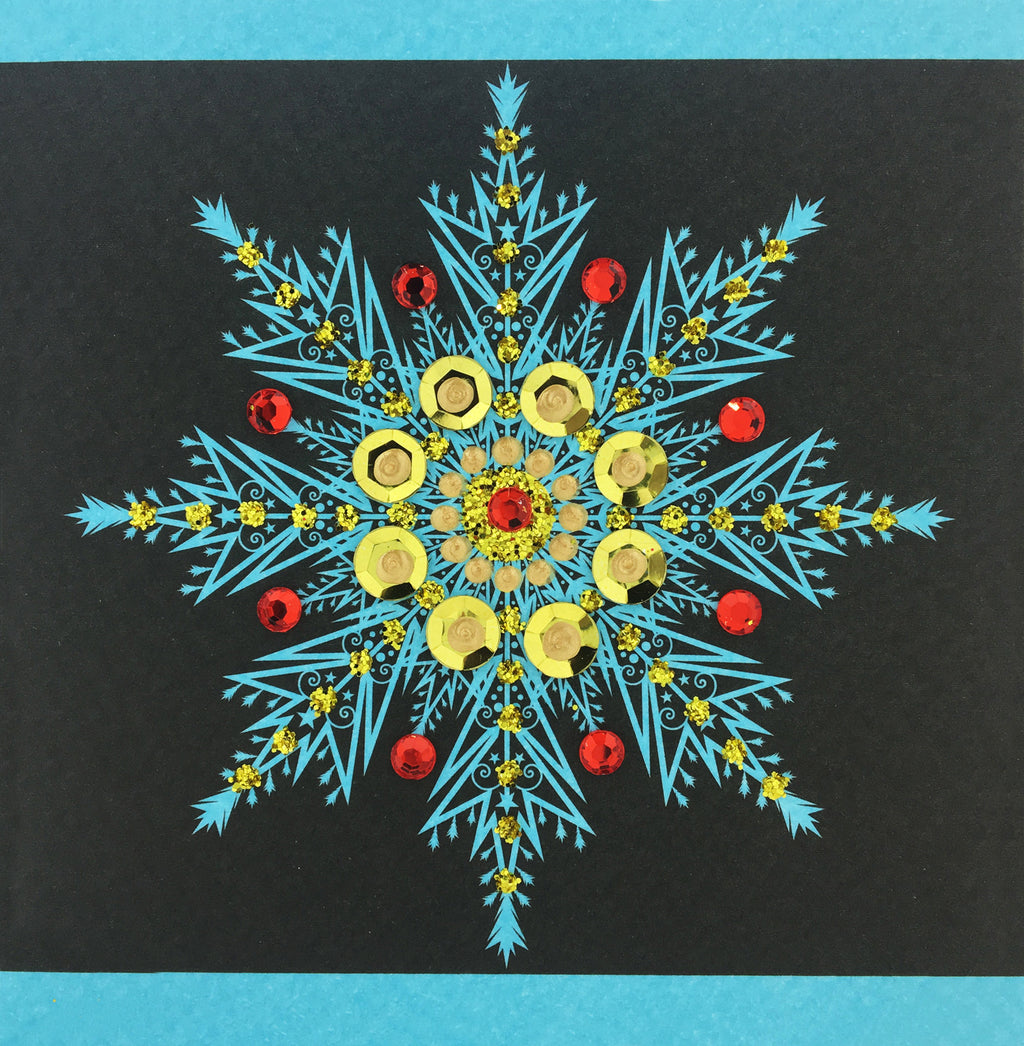 Christmas Snowflake - S1698 (Pack of 5)