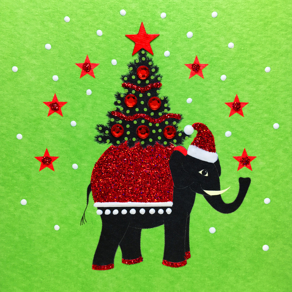 Festive Elephant - S1871 (Pack of 5)