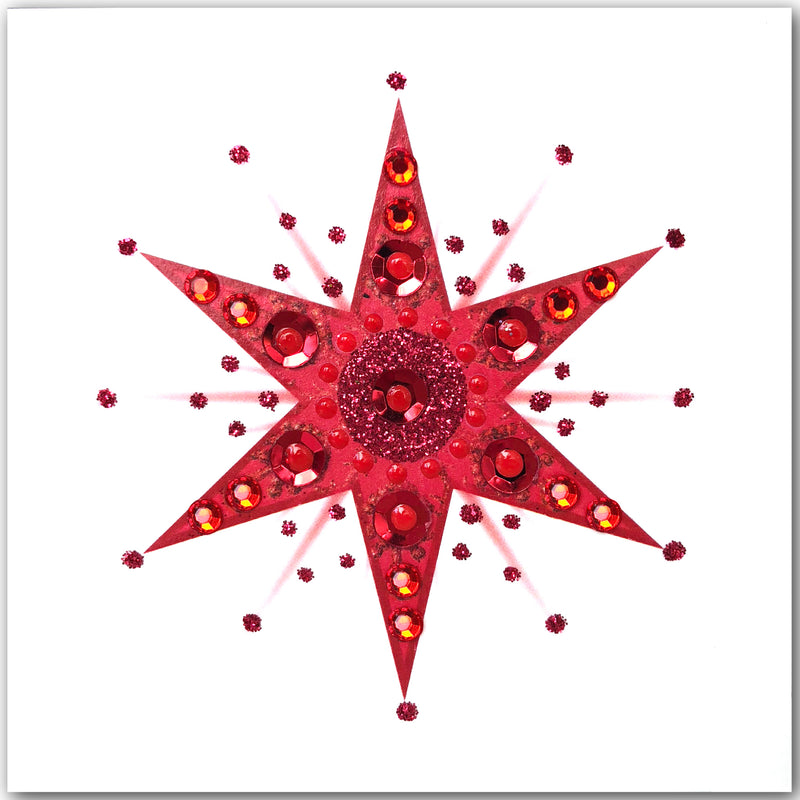 Christmas Star - S1877 (Pack of 5 SMALL Cards)