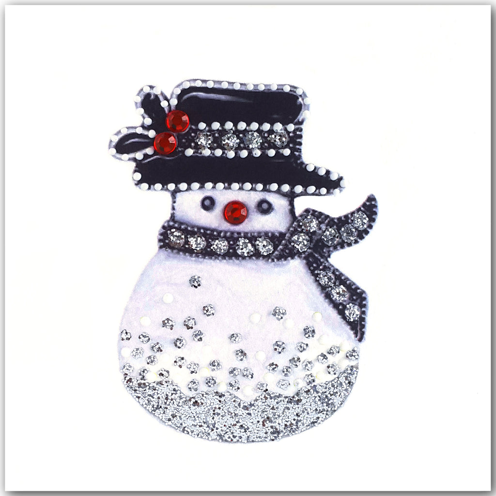 SILVER SNOWMAN - S1907 (PACK OF 5)