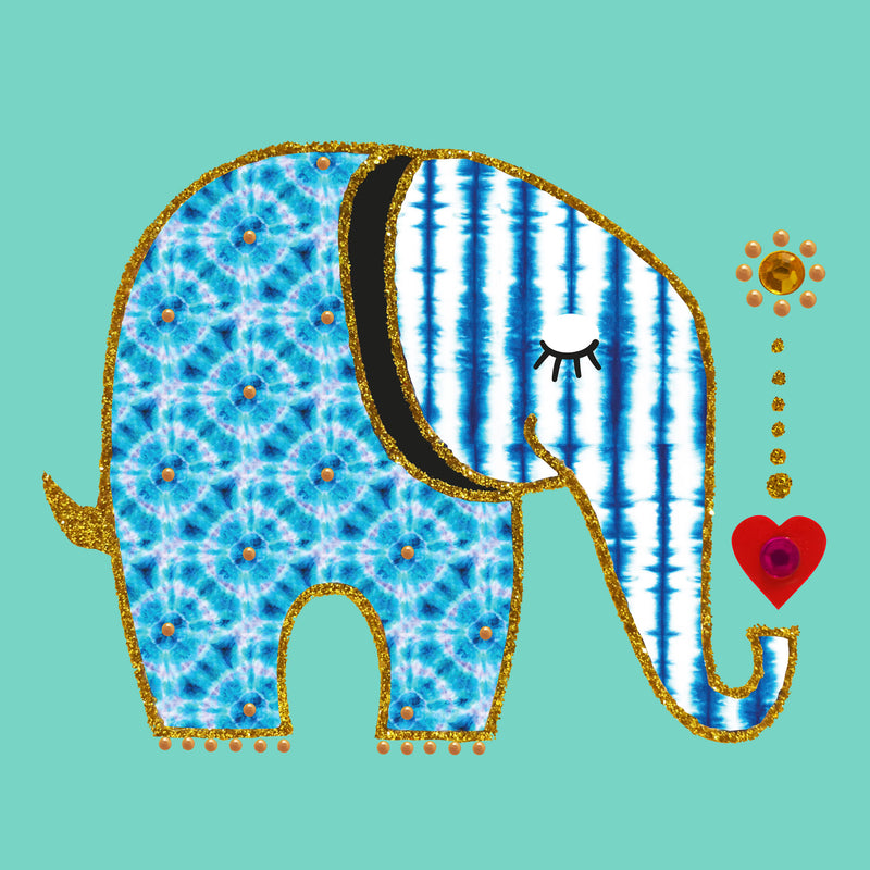 BATIK ELEPHANT - S1972 (PACK OF 5)