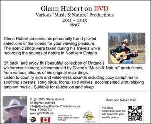 "Glenn Hubert on DVD Various ""Music & Nature"" Productions 2011 ~ 2015 - gmhCafe Store - gmhCafe Store - 2"
