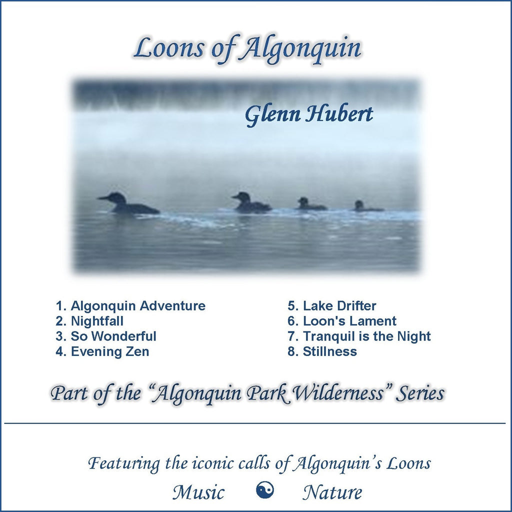 Loons of Algonquin Park CD front cover Glenn Hubert