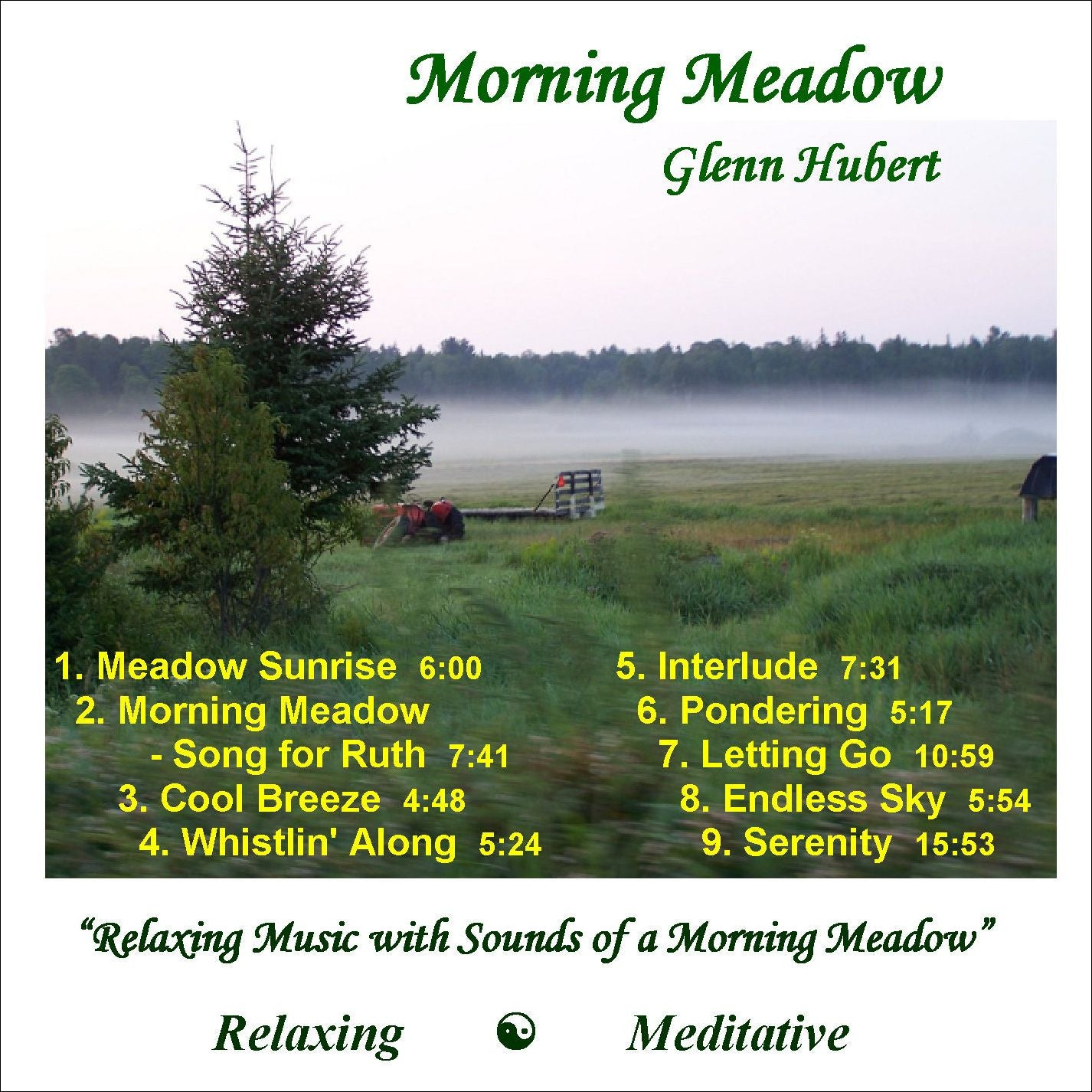 Morning Meadown Glenn Hubert CD front